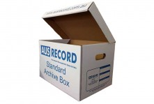 Ausrecord standard archive box document management perth western australia