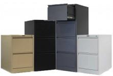 Steel drawer filing storage cabinets