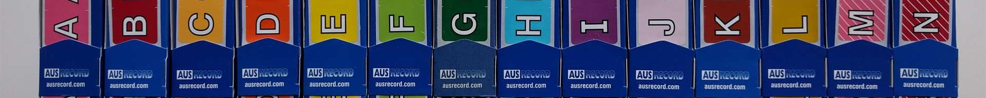 ausrecord ausrecords filing kings labels shelving perth wa ascot