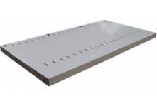 Ausrecords slotted shelves for tambour door filing cabinets