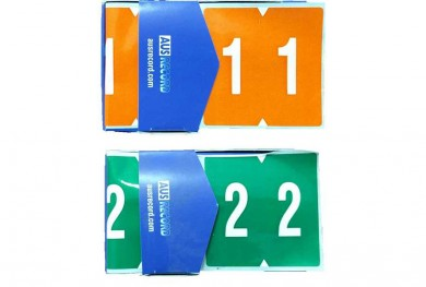 ausrecord ausrecords filing kings double number labels self adhesive filing stickers