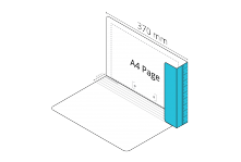 2D Extra File Light Blue