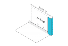 2D File Light Blue